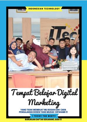 tempat belajar digital marketing